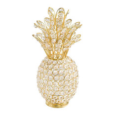 Crystal Gold Pineapple With votive