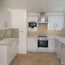 Kitchen done at Cross Harbour.