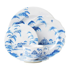 Juliska - Juliska Country Estate 5 Piece Setting Delft Blue - Dinnerware Sets  sc 1 st  Houzz & Trendy Oriental Dinnerware Sets for 2018   Houzz