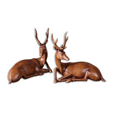 Uttermost Buckly Statues, Set of 2