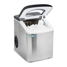 Elite MIM-18 Mr. Freeze Stainless Steel Portable Ice Maker
