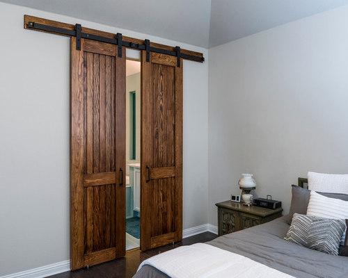 Douglas Fir Bi-Parting Master Bath Doors - Interior Doors