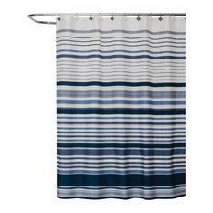 Cubes Fabric Shower Curtain