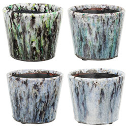 Farmhouse Outdoor Pots And Planters by Fantastic Decor LLC