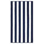 Luxor Linens - Anatalya Classic Resort Beach Towel 2, Navy, 1-Piece Set - Product Details