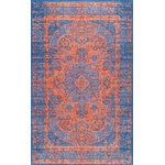 nuLOOM - nuLOOM Statecraft Emblem Area Rug, Navy, Blue, 5'x8' - Made from the finest materials in the world and with the uttermost care, our rugs are a great addition to your home.
