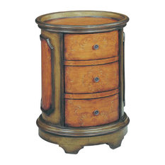Natalie Three Drawer Accent Table