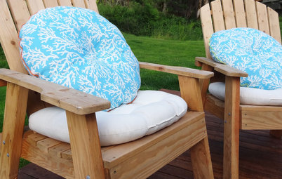 DIY: Easy Outdoor Cushions