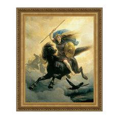 """Valkyrie 1865"" Stretched Canvas Replica, 22.5""x27"""