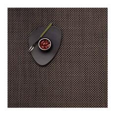 Basketweave Table Mat, Chestnut
