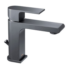 MOD - Olya Single Hole Faucet, Matte Black - Bathroom Sink Faucets