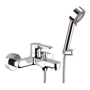 Winner Chrome Plated Bath Mixer Tap With Shower Kit