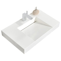 Contemporary Bathroom Sinks by Aquamoon
