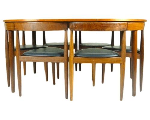 Danish Hans Olsen Frem Rojle Teak Table