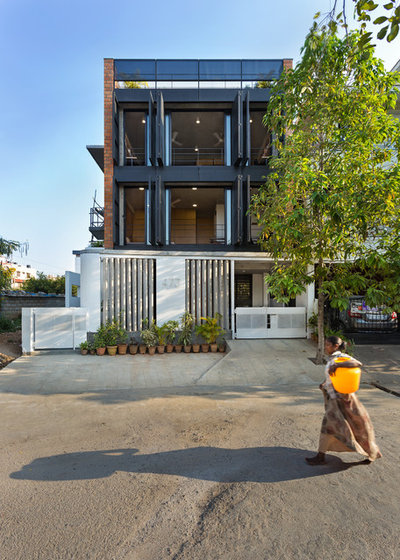 Contemporary Exterior by Between Spaces