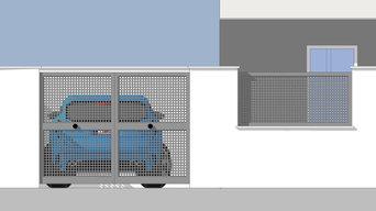 infografías anteproyecto para chalet de 1 planta