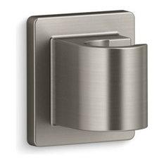 Kohler Awaken Fixed Wall Holder, Vibrant Brushed Nickel