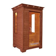 Infrared Health Sauna, Aspen Wood, 2-Person