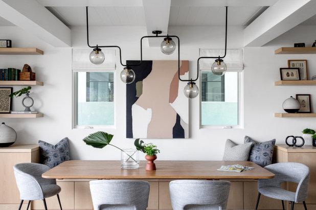 Современный Столовая Contemporary Dining Room