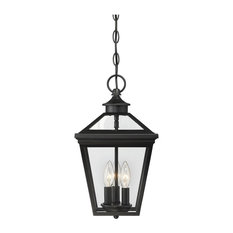 Savoy House Ellijay Hanging Lantern, Black