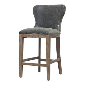 Prime Erin Fabric Counter Stool Midcentury Bar Stools And Machost Co Dining Chair Design Ideas Machostcouk