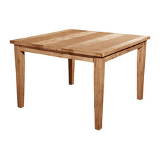 Alpine Furniture Aspen Wood Extension Pub Table In Antique Natural (Brown)