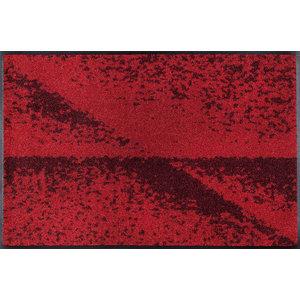 Red Shadow Door Mat, 75x50 cm