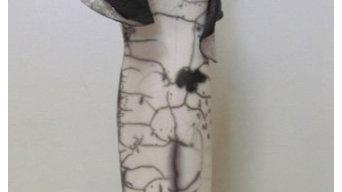 Sculpture raku nu