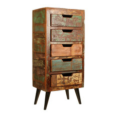 Coastal Tall Chest of Drawers