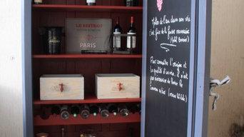 Armoire à vins et articles de cave