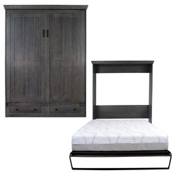Traditional Murphy Beds by RoomAndLoft
