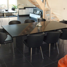 Matching Chairs and Barstools for Open Plan Kitchen/ Dining Areas