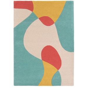 Matrix Arc Bright Rectangular Funky Rug, 120x170 cm