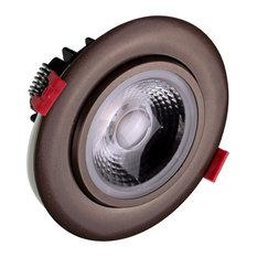 """4"""" LED Gimbal Recessed Downlight in Oil-Rubbed Bronze, 3000K (DGD411203KRDOB)"""