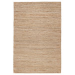"Anji Mountain - Casmir Jute Rug, 8'x10' - Creamy beige and earthy gold fibers bring classic style to your home with the endlessly practical, 100% natural jute Casmir Area Rug. This rug is naturally resistant to moisture and heavy wear. Place yours confidently in dining rooms, living rooms or entryways for effective floor protection that never loses its luster. Fusing eco-friendly techniques with ethical labor practices, this rug is handwoven by expert artisans in India. Each piece represents a rich cultural history of traditional weaving techniques that have been used for centuries. Versatile, timelessly stylish, and exceptionally durable, this rug will stay with you for years as your style evolves. Note: It is normal for natural fiber rugs to ""sprout"" — what may seem to be a pulled thread is really just a yarn whose fibers have sprouted. This is not a defect but an inherent quality of certain natural fiber rugs. Simply clip the sprout that has popped up with sharp scissors."
