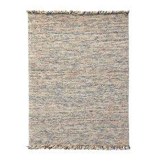 Oshawa Cozy Wool Orange Hand-Woven Area Rug 8'x10'
