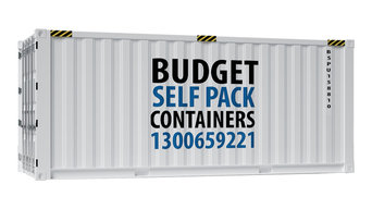 Budget Self Pack 20ft Shipping Container