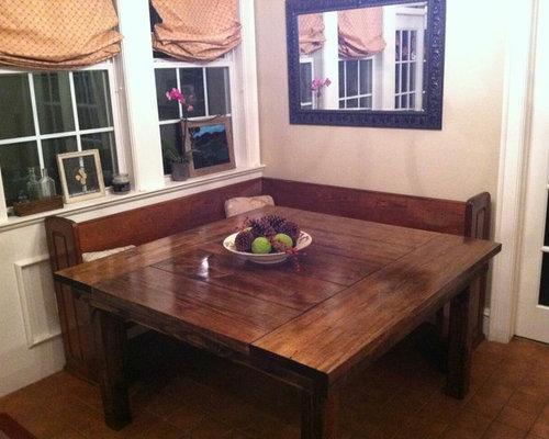Square Farmhouse Dining Tables   James+James Furniture