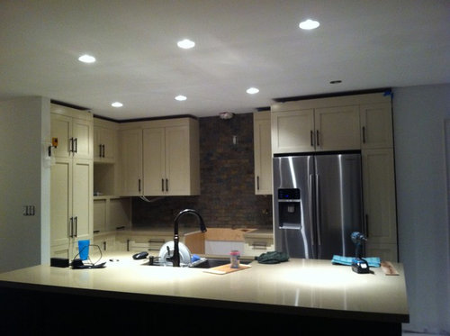 What Color Goes With A Beige And Bronze Kitchen Grey
