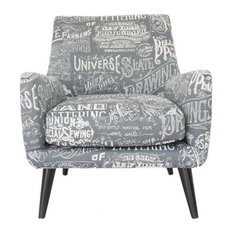 Retro Script Occasional Chair