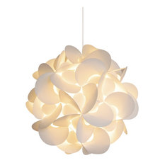 50 Most Por Paper Shade Pendant Lights For 2019 Houzz