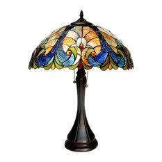 Amor 2-Light Victorian Table Lamp
