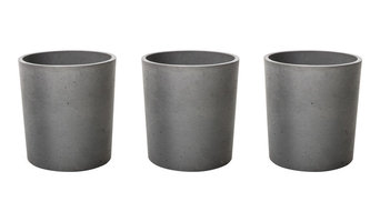 Concrete Spice Pots, Set of 3