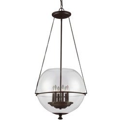 Great Transitional Chandeliers by Lighting New York