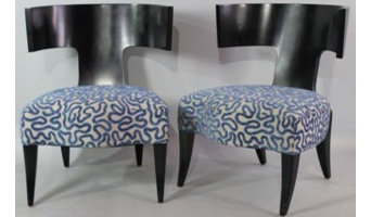 Lot 35:  Pair of Donghia Side Chairs