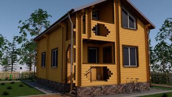 Архитектурные проекты малоэтажных жилых зданий