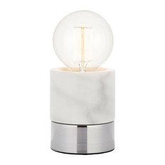 Farrah Touch Table Lamp, Marble