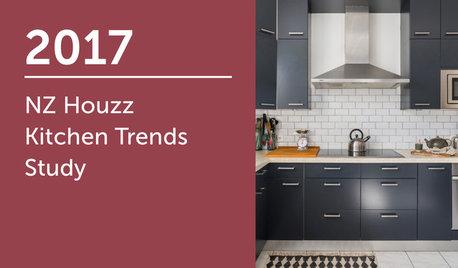 2017 NZ Houzz Kitchen Trends Study