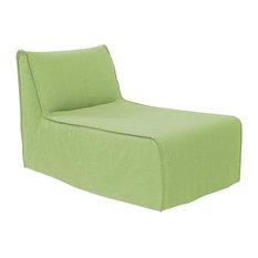 Linen Slub Grass Pod Lounge Chair