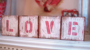 Wood Letter Blocks